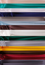 BN 100% Satin Silk Fabric - Sold by the metre in 45ins widths