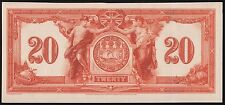 CANADA $20 1917 THE CANADIAN BANK ON COMMERCE FACE DIE ESSAY WL6965