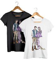 Rapunzel & Flynn Disney Couples Fashion T-Shirt Unisex Fit Tee
