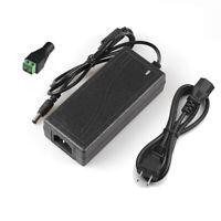AC TO DC 12V Power Supply Adapter F 5050 5630 3528 WS2811 RGB LED Strip Light US