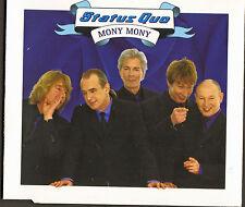 STATUS QUO 4 track cd single MONY MONY plus live tracks