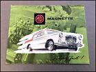 1959 MG Magnette Mark III Vintage Factory Original Car Sales Brochure Catalog