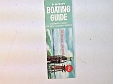 Multiple Available. Vintage 1960 Coca Cola Handy Boating Guide Pamphlet Book