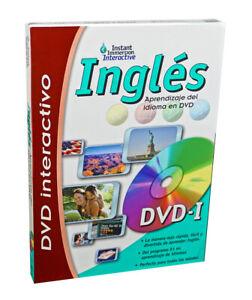 Aprende a hablar INGLES Inglés Aprendizaje de idiomas Juego interactivo de DVD