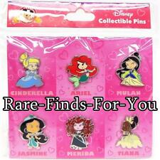 Disney Park Cute Cutie Baby Toddler Princess 6-Pin Booster Pack Set (NEW/SEALED)