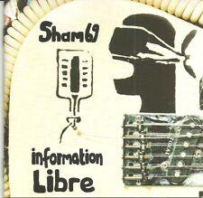 SHAM 69-INFORMATION LIBRE CD(ROTATE)SIGNED