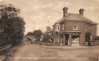 POSTCARD SURREY CAMBERLEY - PARK ST POST OFFICE