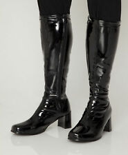 Black Women's Ladies Boots - Knee High Boots - Choice of Boot Styles & Sizes