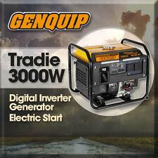 Generator GENQUIP Tradie 3000W Digital Inverter Generator