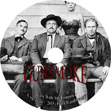 473 Episodes on 2 DVD's GUNSMOKE Old Time Radio Show Western