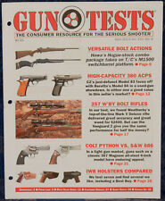 Magazine GUN TESTS April 2013 !!! THOMPSON/CENTER Dimension .243 Win. RIFLE !!!