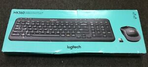 Logitech Mk360-Compact And Slim Wireless Combo