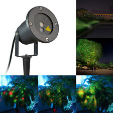 LED Laser Projector Light w/Remote UL Outdoor Lawn Red Green Perfect Holiday