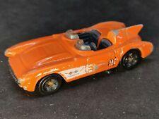 Hot Wheels 2012 Chevy Corvette SR-2 Naranja 110