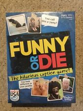 New And Sealed Funny Or Die Game.  Hasbro Gaming.