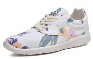 Vans Iso 1.5 Ultracush Lightweight Womens Vintage Floral White Running Shoes 9.5
