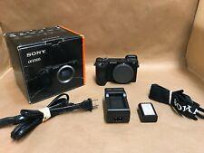 Sony Alpha a6500 24.2MP Digital Camera - Black (Body Only) ILCE-6500 4789 SHOTS