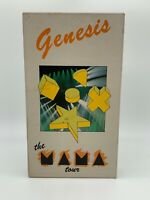 Genesis Live: The Mama Tour VHS Video Phil Collins