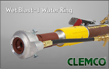 Clemco Wetblast Attachment Sand Blaster Wet Blasting Water Ring, Sandblasting