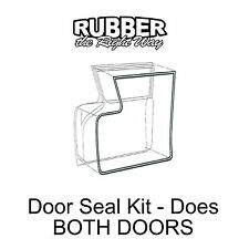 1957 1958 Ford & Edsel Door Seal Kit - Does Both Doors