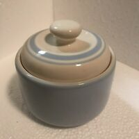 Vintage Noritake Sugar Bowl Keltcraft Misty Isle Powder Blue - Ireland