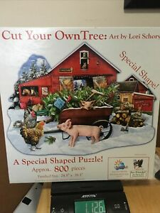 Sunsout Jigsaw Puzzle Item No. 96066 Cut Your Own Tree -  Retired - 800 pieces