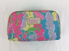 Lilly Pulitzer for Estee Lauder Zippered Cosmetic Case Multi-Colored Floral