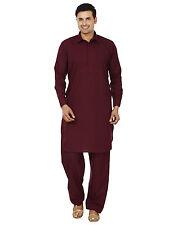 Indian Traditional Bollywood Pathani Kurta Pyjama Mens Ethnic Wear Kurta Pa 8374