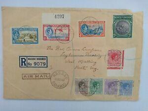 Bahamas King George VI cover