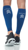 Sigvaris 412V Performance 20-30 mmHg Sports Compression Leg Sleeves - 1 pr