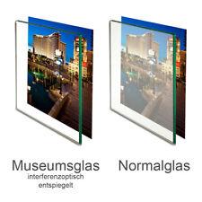 Museumsglas Glas entspiegelt Ersatzglas für Bilderrahmen 70% 92% UV Schutz
