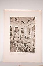 Inauguration du nouvel opéra , d'après Detaille, héliogravure fin XIX°