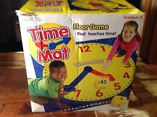 Learning Resources Time Mat Educational Floor Game that Teaches Kids the Time
