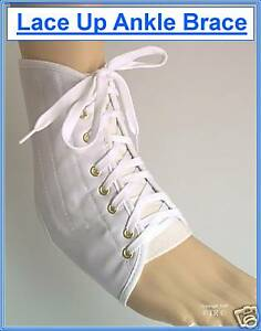 LACE UP ANKLE SUPPORT BRACE ( P&P 99p Worldwide)