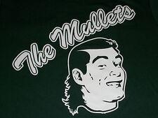 THE MULLETS Dark Green Softball Jersey #6 Ladies Medium Womens Top Mullet Badger