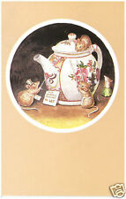 Racey Helps - Teapot to Let - MEDICI POSTCARDS