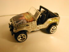 LOOSE mint Hotwheels 2004 Tomb Raider JEEP silver from action pack Laura Croft