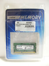 Crucial 2GB 204-Pin DDR3 SO-DIMM DDR3 1066 (PC3 8500) Laptop Memory