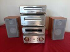 Technics SE-HD350 Hi Fi Stereo System Amp, Tuner, CD, Tape, Mini system speakers