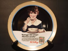 """Vintage Kellogg's 1990""""Kellogg's Will Always Maintain Quality"""" Collectors Plate"""