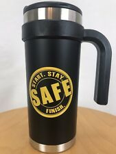 16oz Start. Stay. Finish. Safe Brand New Never Used Mug