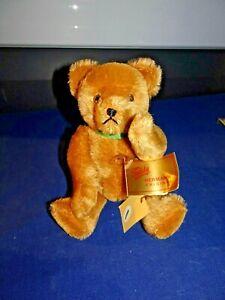 """Hermann Fully Jointed Teddy Bear 9"""" Tall"""