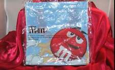 "M & M'S SMALL CANDY PURSE, LUNCH BAG OR TOTE BAG (7""X 7"")"
