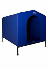 Dog Kennel Extra Large HoundHouse Blue special inc. mat & carry bag