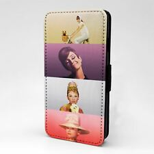 For Apple iPod Touch Flip Case Cover Audrey Hepburn - A118