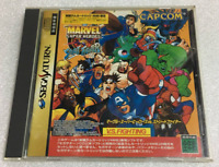 MARVEL SUPER HEROES VS STREET FIGHTER SS CAPCOM Sega Saturn