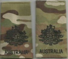 Multicam Army Australia Rank Slides WO1 X2