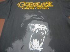 GORILA X Jungle Park  Cancun Mexico  Gorilla Zip Line Medium T Shirt   Q8