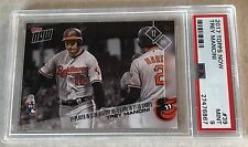 TREY MANCINI (RC) 2017 TOPPS NOW #39 PSA GRADED 9 MINT - 5 HRs In 1st 10 GAMES