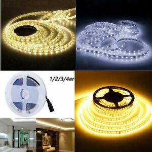 5m-20m Flexible Bright LED Strip Lights 12V 2835 SMD Warm Cool White Waterproof